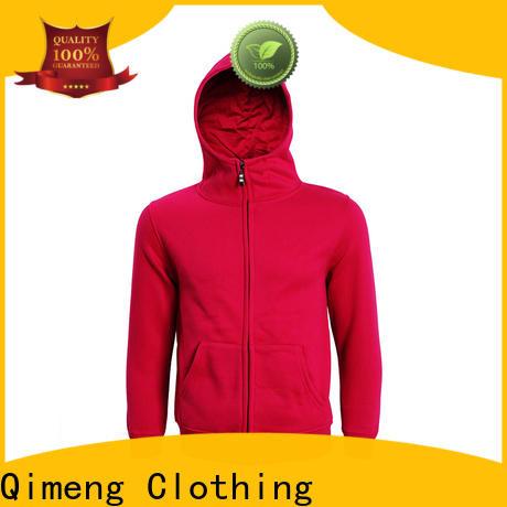 QiMeng oem womens hoodies sweatshirts for sporting