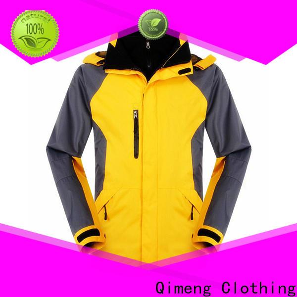 QiMeng hot-selling custom jacket zipper design for daily wear