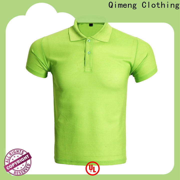 QiMeng shirts cotton polo shirts mens factory  for business meetings