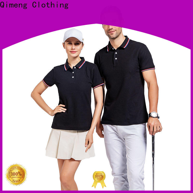 QiMeng attractive ladies polo shirts producer for daily wear