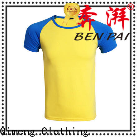 QiMeng plain printed t-shirts for women for-sale for team-work