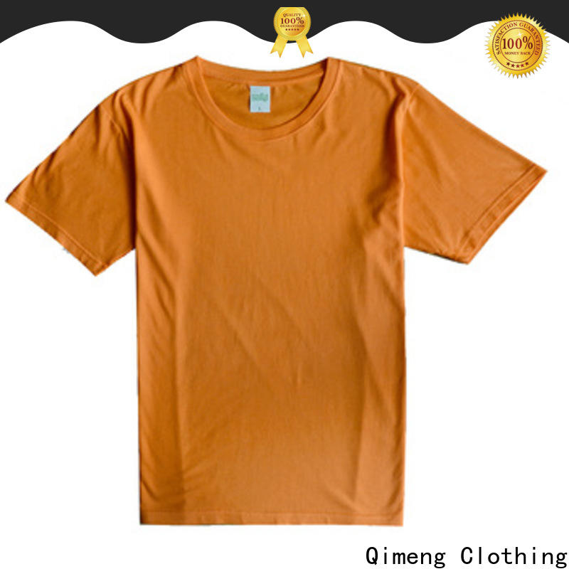 modern custom cotton t-shirt style for outdoor activities