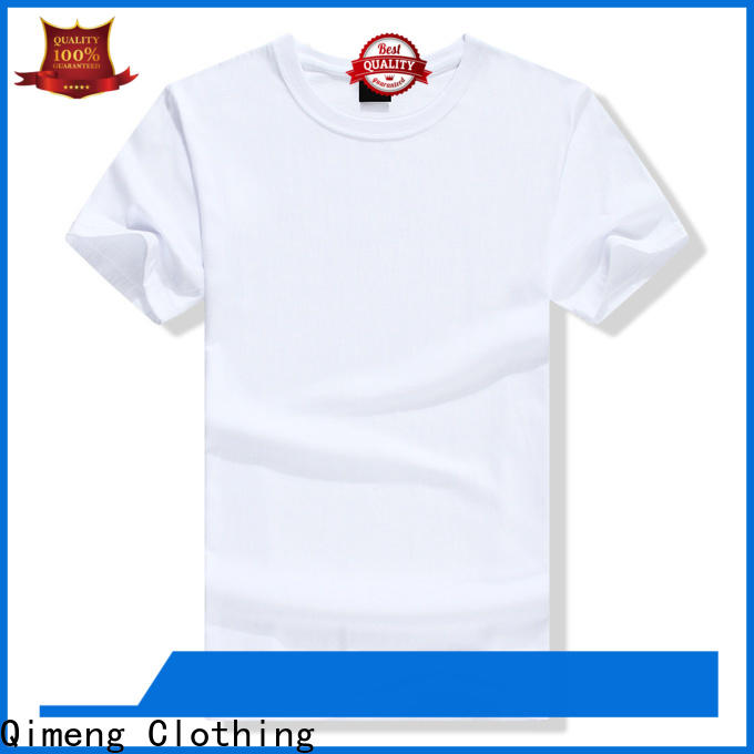 QiMeng round branded t-shirts in China for outdoor activities