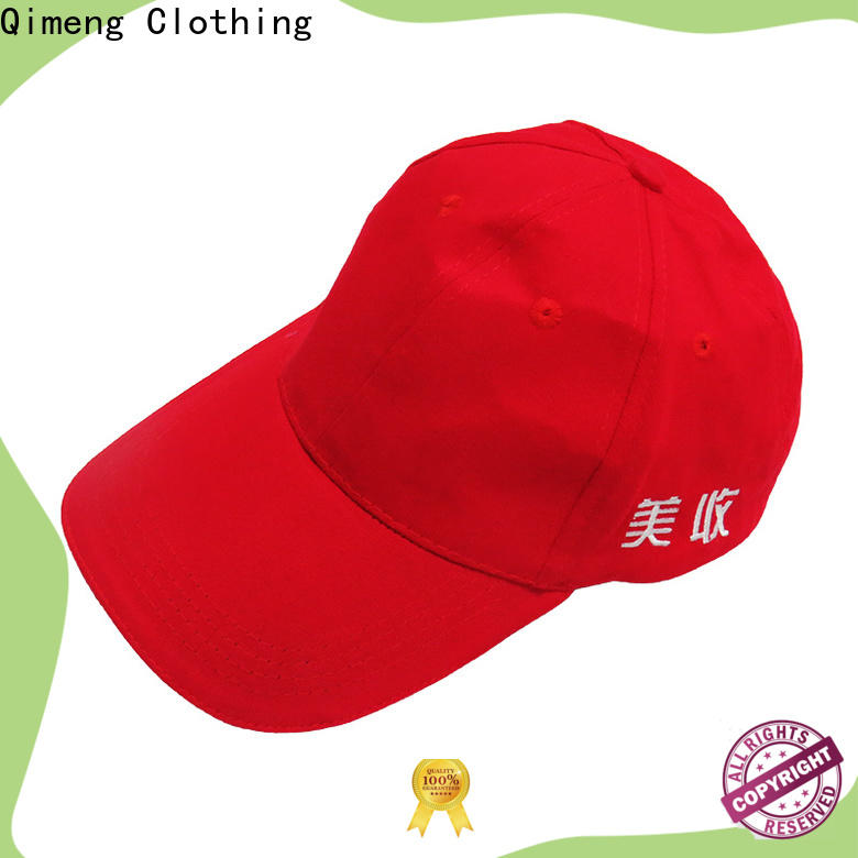 QiMeng quality sports cap factory price for sporting