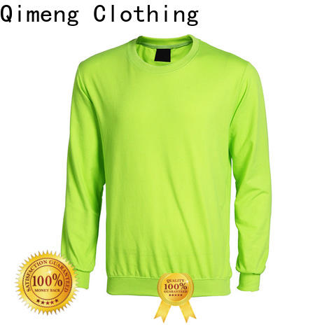 QiMeng excellent black hoodies men directly sale for sporting