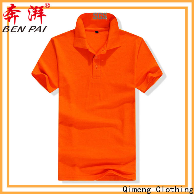 QiMeng nice custom polyester polo shirts with many colors for daily wear