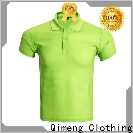 QiMeng promotional organic cotton polo shirts factory for team-work