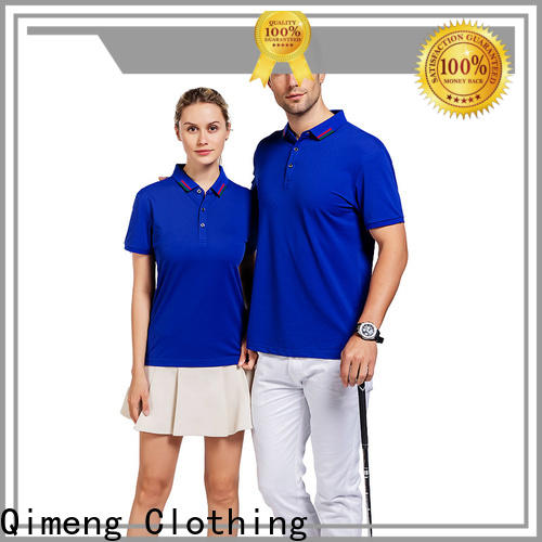 QiMeng hot-selling polo sport shirts in different color for business meetings