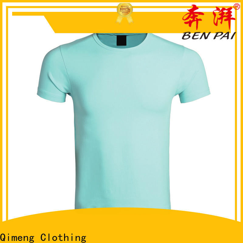 QiMeng collar personalized t shirt for-sale for sporting