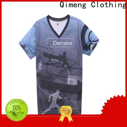 QiMeng quality t shirts cotton in China for outdoor activities