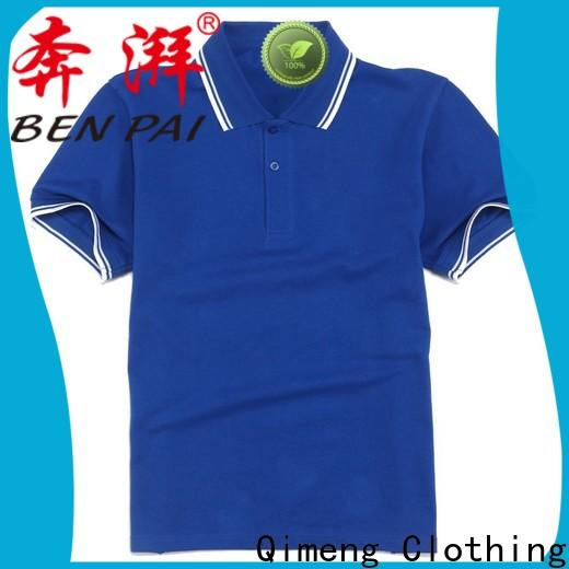 QiMeng special yellow polo t shirts