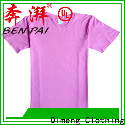 QiMeng tee custom cotton t-shirt for-sale for daily wear