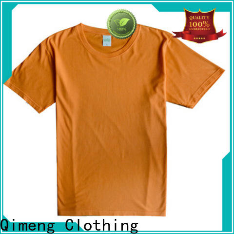 QiMeng outdoor plain white t-shirts supplier for sports