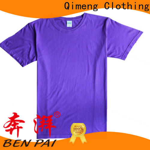 QiMeng high-quality wholesale t shirt printing on sale for daily wear