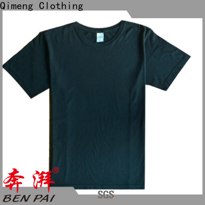 QiMeng daily-wear custom cotton t-shirt experts for sporting