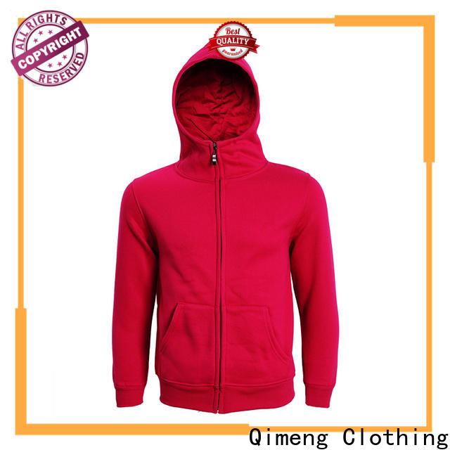 QiMeng service womens hoodies sweatshirts with many colors for promotional campaigns