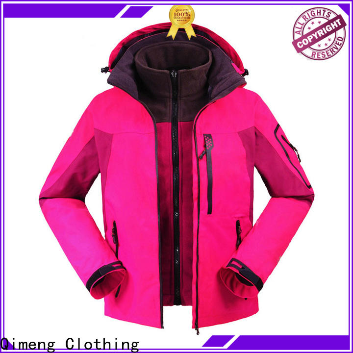 QiMeng OEM men jacket wholesale directly sale in autumn