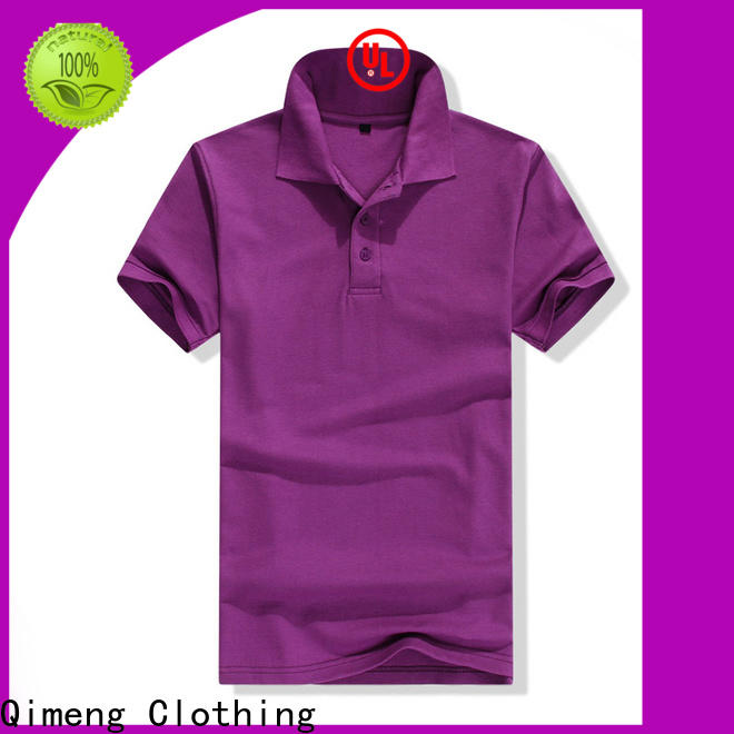 QiMeng selling t-shirts polos in different color for daily wear