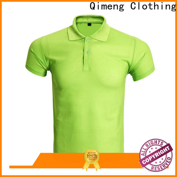 QiMeng shirts youth polo shirts producer for promotional campaigns