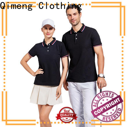 QiMeng special men golf polo shirt wholesale for business meetings