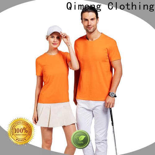 QiMeng bulk custom printed t shirts price for sporting