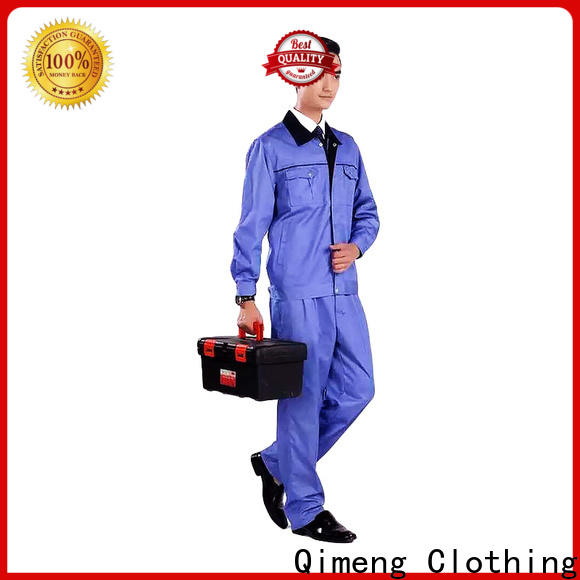 QiMeng workwear hospital isolation gowns price for daily wear