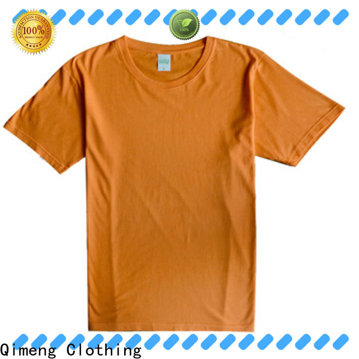 QiMeng customizable t shirts free samples in China for outdoor activities