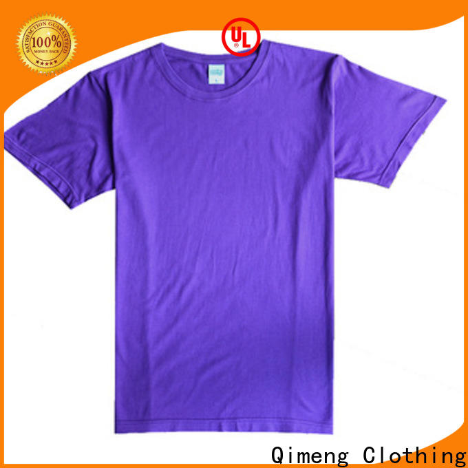 QiMeng fine- quality wholesale t shirts price for outdoor activities