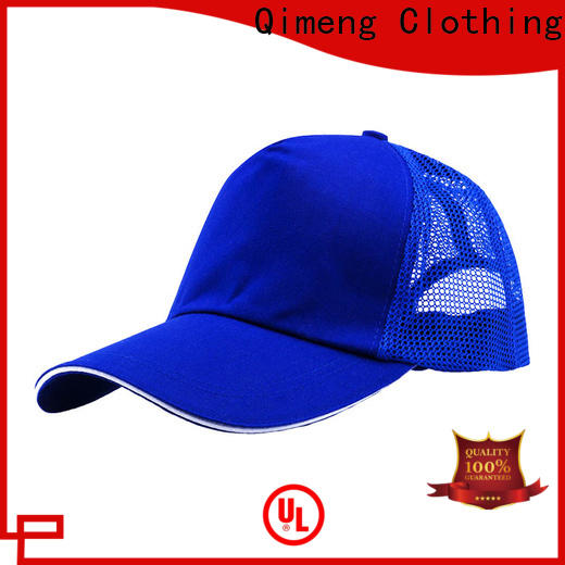 QiMeng design sport cap from China for campaigns