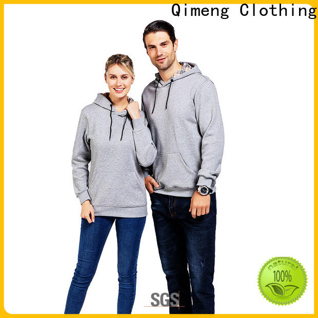 QiMeng shirt men zipper hoodies price for promotional campaigns