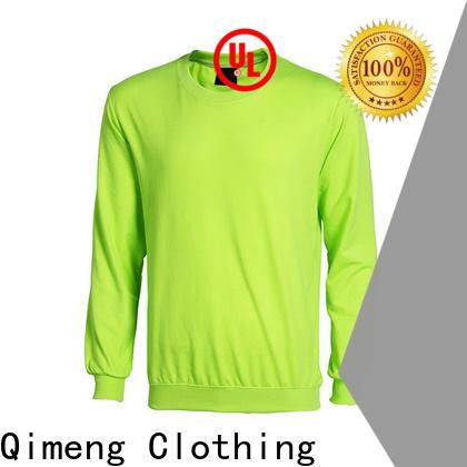 QiMeng plain sweatshirts hoodies owner for outdoor activities