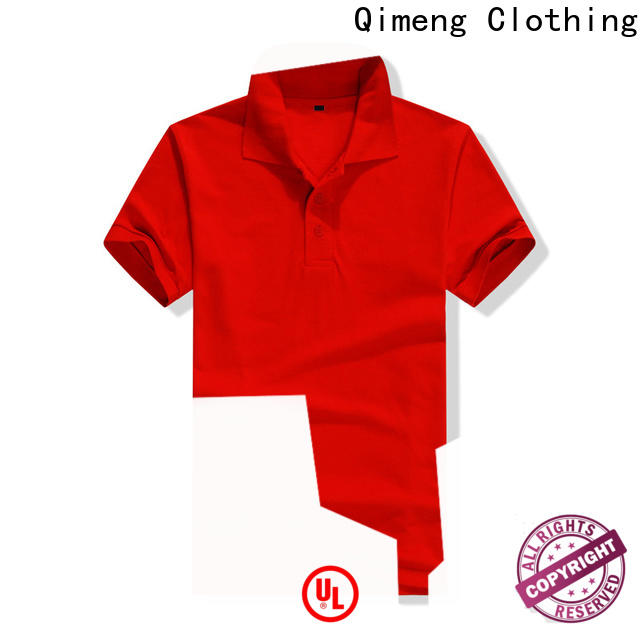 QiMeng golf personalized polo shirts producer for outdoor activities