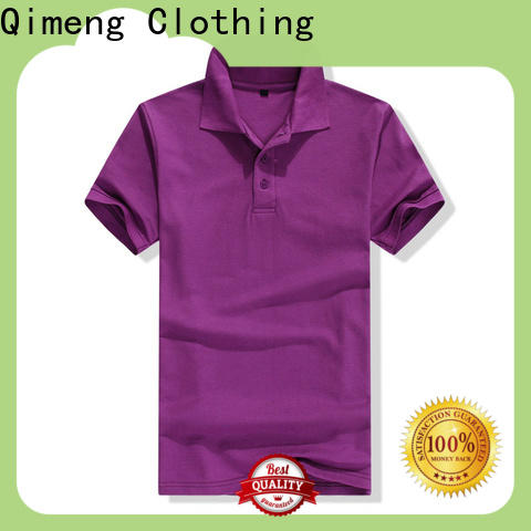 QiMeng first-rate organic cotton polo shirts wholesale for outdoor activities