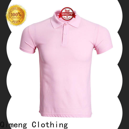 QiMeng top men golf polo shirt