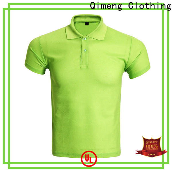 QiMeng inexpensive wholesale polo shirts manufacturer for promotional campaigns
