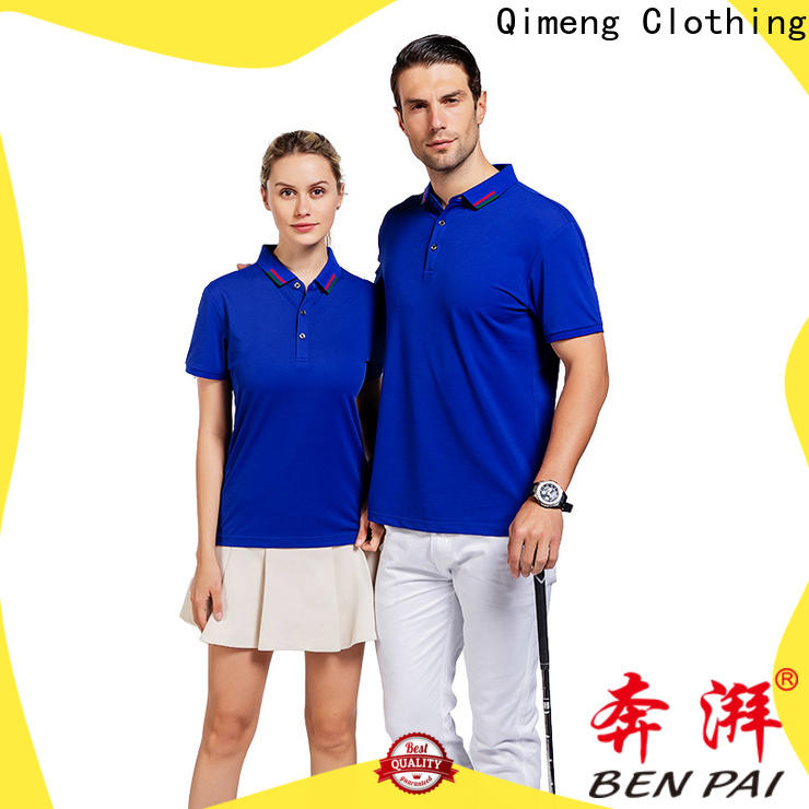 QiMeng attractive wholesale polo shirts producer for promotional campaigns