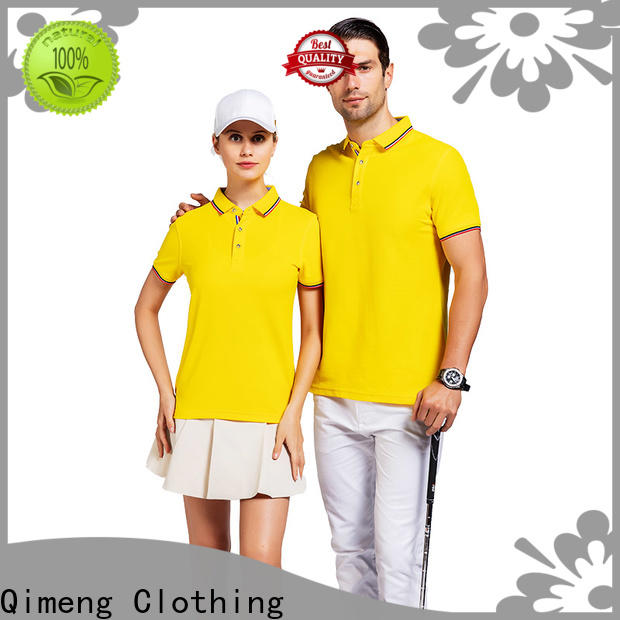 QiMeng new-coming men golf polo shirt producer