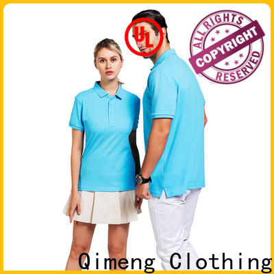 QiMeng nice cotton polo shirts mens directly sale for team-work