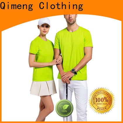 QiMeng apparel women t-shirts in different color for outdoor activities