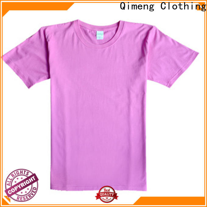 QiMeng mens personalized t shirt price for daily wear