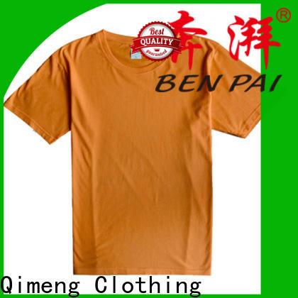 QiMeng bulk o neck t shirt for-sale for sports