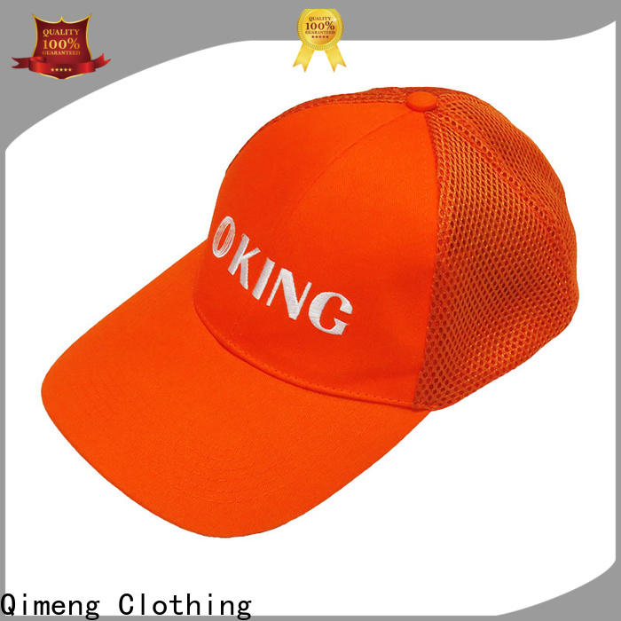 QiMeng wholesale baseball cap custom from China for campaigns