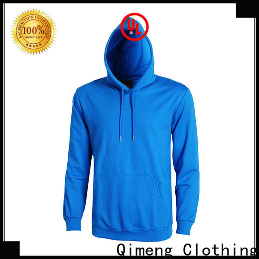 QiMeng design girls hoodies directly sale for sporting