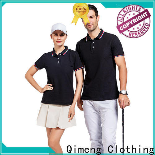 QiMeng clothes plain polo shirts from China for outdoor activities