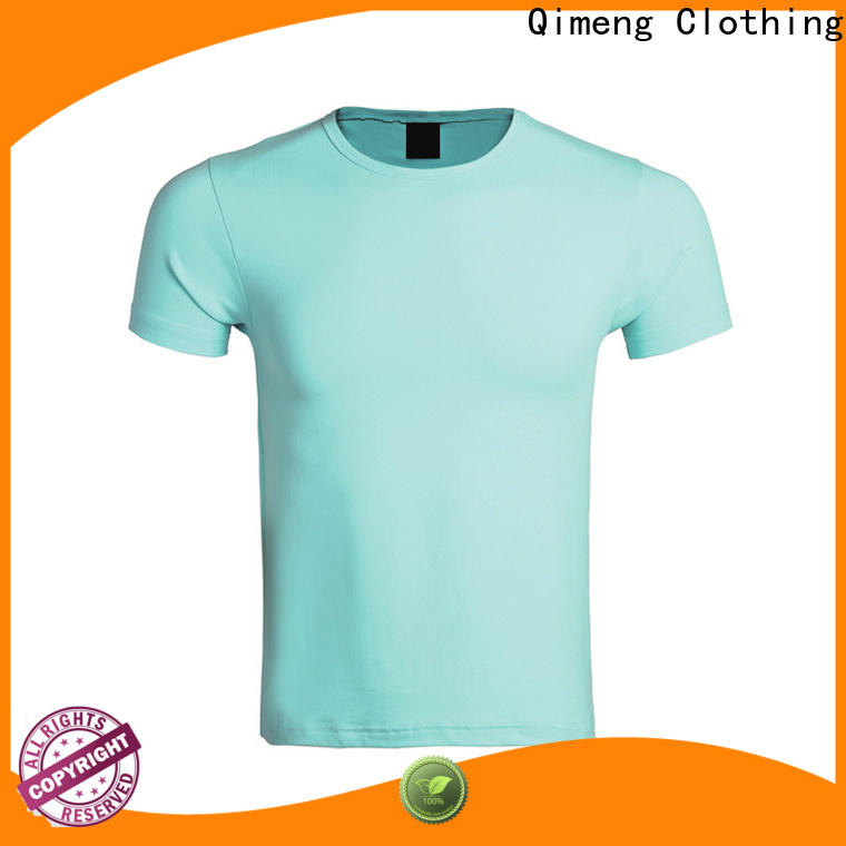 QiMeng modern screen printed t-shirts for-sale