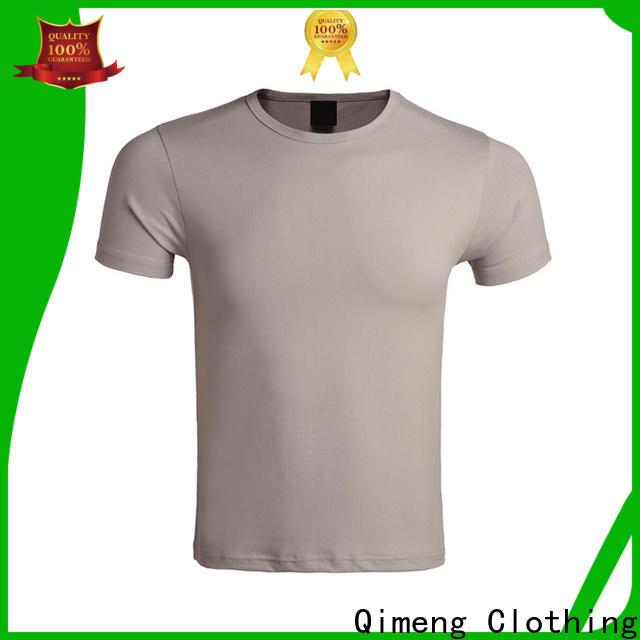 customized o neck t shirt plain in China
