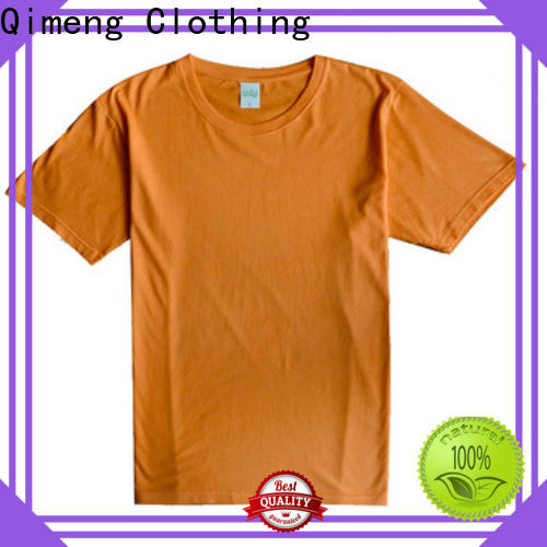 QiMeng cotton t shirts free samples price for sporting
