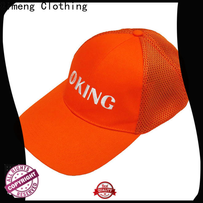 QiMeng fashion sport cap factory price for daily wear