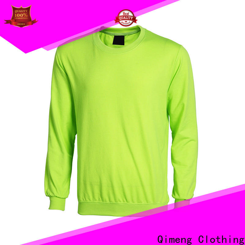 QiMeng nice custom hoodies embroidered from China