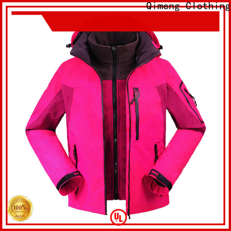 QiMeng breathable custom jacket factory price for daily wear